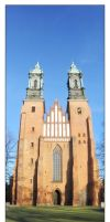 Cathedral in Poznan by Amnet