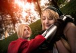 Automail Geek.  Winry and Edward. FMA cosplay. by Giuzzys