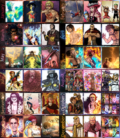 2014 Art Summary by Deer-Head