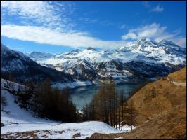 Tignes Alpes by cylia522