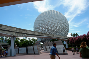 Epcot Spaceship Earth Stock 9 by AreteStock