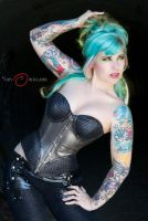 Corset Queen by PoppyPhotography