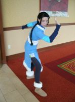 Me as Katara at Anime Iowa by artangel85