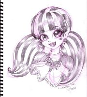 2012 :: Monster High - Draculaura by PinkAppleJam