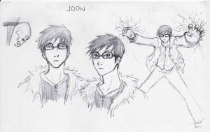 Character Design - Joon by RoydGriffin