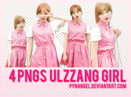 20150621 / 4PNGs Ulzzang Girl by PyNAngel