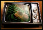 .I'm on the Tv. by KatrinG