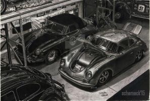 Porsche Garage by schemeck