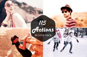 115 Premium Photoshop Action Bundle by symufa