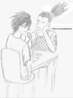 For One-Loser--Shikamaru and L by ThereIsNoCure4Me