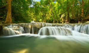 Erawan Waterfall 5 by comsic