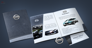 nissan brochure by REDFLOOD