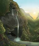 Waterfall by Kinotastic