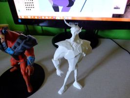 3D Print of Ace Hardlight by Lurking-Leanne