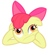 Applebloom Thinks Deeply... by InternationalTCK