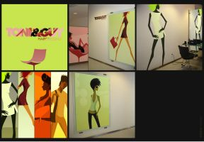 INTERIOR TONI+GUY by gartier