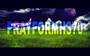 PrayForMH370 :') by amirulasa95