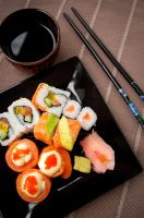 Sushi by Anarchistic-Vampire