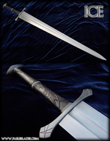 Ice - Sword of House Stark by Fableblades