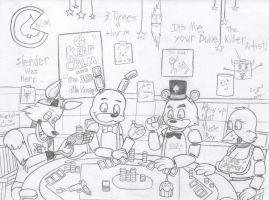 Five Poker Nights at Freddy's by Kevi-the-Eevee