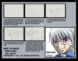 How to draw Zeon Bell by AJJDS