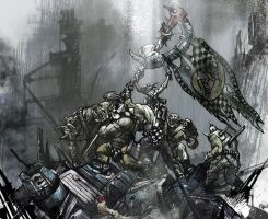 Warhammer 40k: New frontline by Peter1punk