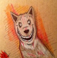 Creepypasta Monsters Series: Smile Dog by HaleyKlineArt