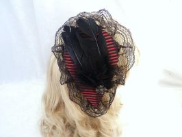 Victorine hairpin red by Serata