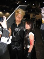 Expo 2008 - Cloud and Tifa by sassie-kay