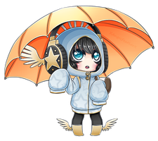 Nimble - Umbrella by XAngelFeatherX
