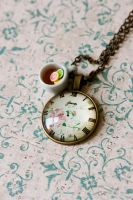 It's Tea Time necklace by MiniSinLove