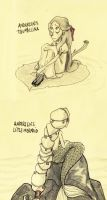 Andersen's Tales Sketches by 9Timothy9