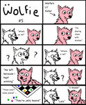 Wolfie #5 by cookiefur