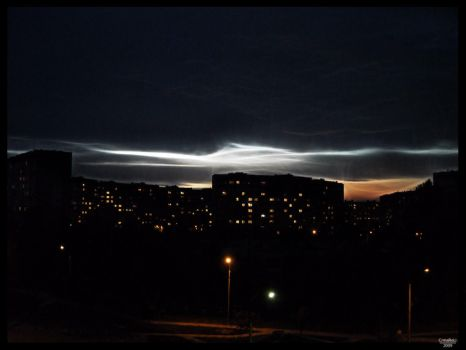 Evening view by CrMaReLi