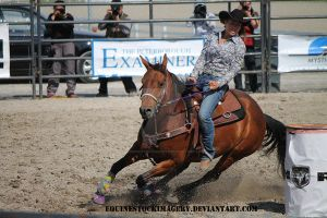 Barrel Racing 2 by EquineStockImagery