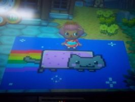 Animal Crossing C.F. Nyan Cat by EleganceofRomance