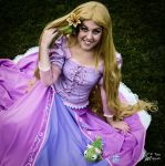 Rapunzel cosplay commission by AliciaMigueles