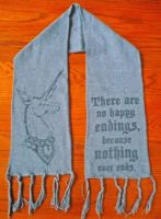 The Last Unicorn Scarf by KING1384