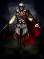 Ezio Assassin's Creed by CallieClara