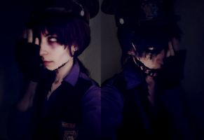 I'm your nightmare - Nightmare Purple guy cosplay by AlicexLiddell
