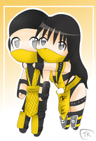 Scorpion and Hellfire by Takeo212