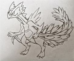 Project Fakemon: Mega Sceptile by XXD17