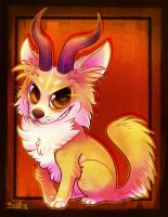Cochibi:: Chihuahua of doom by vaporotem