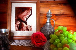 Arno Dorian - Cross Stitch Framed by shingorengeki