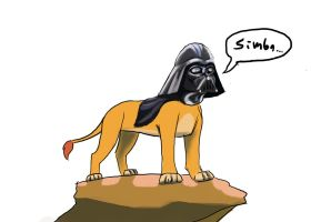 Simba, i am your father by Kristheblade