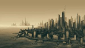 city scape by BleedingBlack666