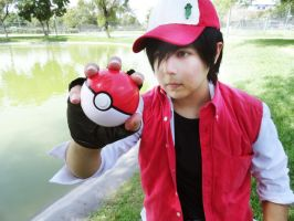 Pokemon Trainer Red - Cosplay by Nao-Dignity