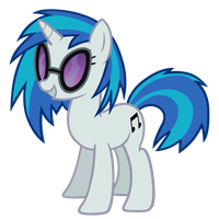 Vinyl Scratch by FaithlessHyren