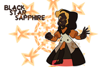 [G] - Black Star Sapphire by FloofHips