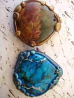 Jasper Stone Pendants by RoyalKitness